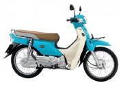 Motorbike Honda Super Cub Blue-01