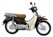 Motorbike Honda Super Cub Brown-01