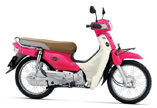Motorbike Honda Super Cub Pink-01