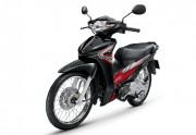 Motorbike Honda Wave 110i New 2016 Black-Red Normal Wheel-01