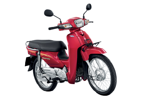 Motorbike Honda Dream 110i Red-01