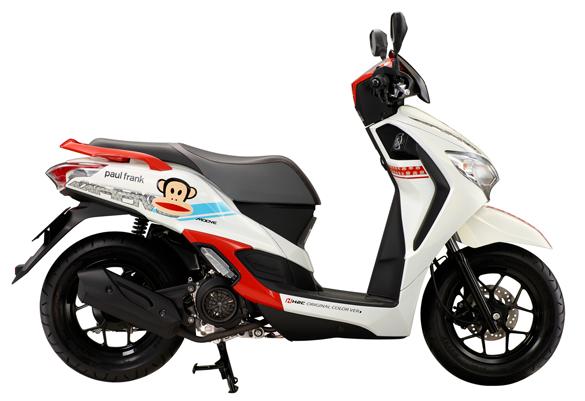 Motorbike-Honda-MOOVE-paul-frank-Edition