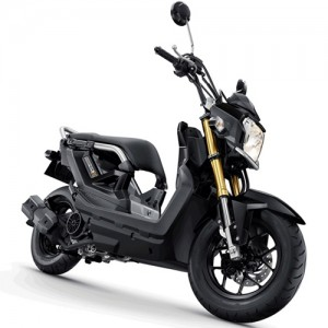 Motorbike-Honda-New-Zoommer-X-Black-Feature
