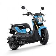 Motorbike-Honda-New-Zoommer-X-Blue