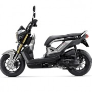 Motorbike-Honda-New-Zoommer-X-Silver