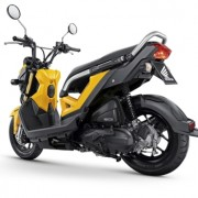 Motorbike-Honda-New-Zoommer-X-Yellow