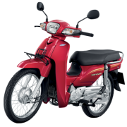 motorbike-honda-dream110i-red-color