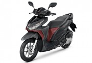 Motorbike Honda Click 125i New Black Red-01