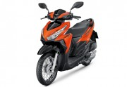 Motorbike Honda Click 125i New Orange-01