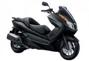 Motorbike Honda Forza 300 Black-01