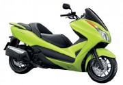 Motorbike Honda Forza 300 Green-01