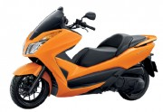Motorbike Honda Forza 300 Orange-01