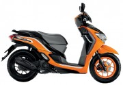 Motorbike Honda Moove new 2016 Orange Black-01