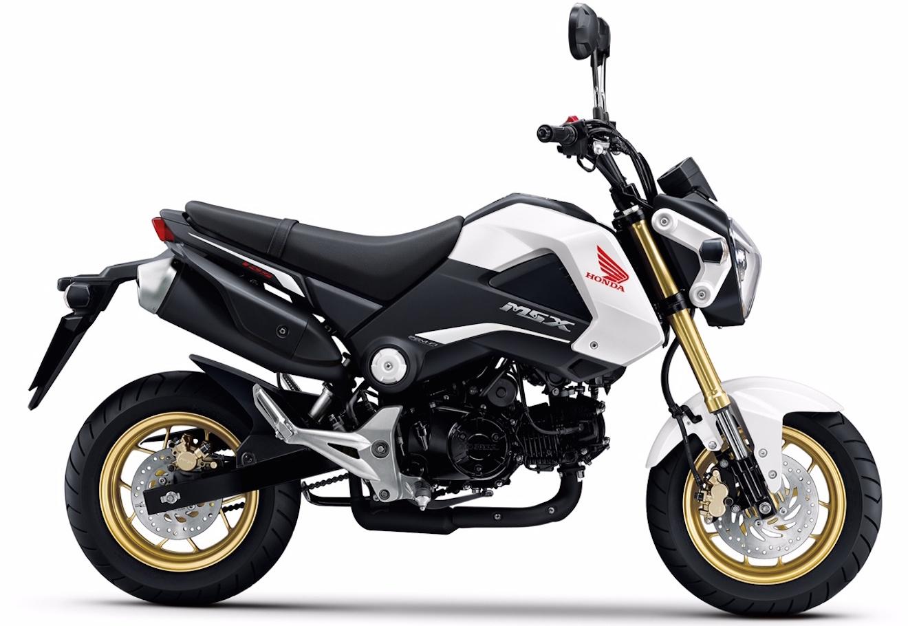 honda msx 125 125 2015 motorbike. Black Bedroom Furniture Sets. Home Design Ideas