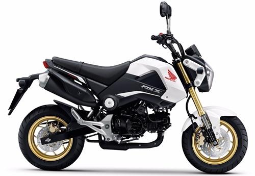 Motorbike Honda Msx 125 2015 White Feature New ฮอนด้า ขอนแก่น มอเตอร์ไบค์