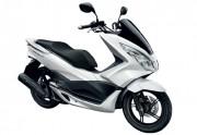 Motorbike Honda PCX 150 New White-01