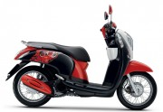 Motorbike Scoopy i Club 12 new 2016 Black Red-01