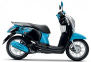 Motorbike Scoopy i Club 12 new 2016 Blue 01-01-01