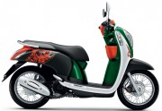 Motorbike Scoopy i Club 12 new 2016 Green 01-01