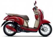 Motorbike Scoopy i Club 12 new 2016 Red Brown-01