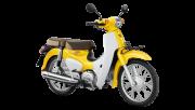 ฮอนด้า ซูเปอร์ คับ Super Cub 2018 สีเหลือง เมืองพลมอเตอร์ไบค์ เมืองพล ขอนแก่น